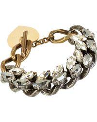 Lanvin - Metallic Susan Bracelet - Lyst