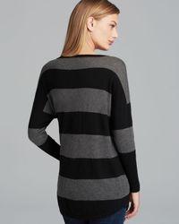 Joie - Black Sweater Chyanne Stripe - Lyst