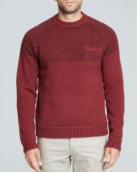Saturdays NYC | Purple Paul Birdseye Raglan Sweater for Men | Lyst