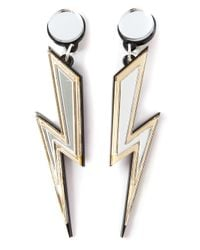Yazbukey | Metallic Storm Earrings | Lyst