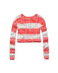 Abercrombie & Fitch | Pink Katrina Sweater | Lyst