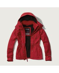 Abercrombie & Fitch - Red A&f All-season Weather Warrior Jacket - Lyst