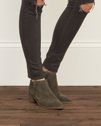 Abercrombie & Fitch | Green Dolce Vita Keiton Bootie | Lyst