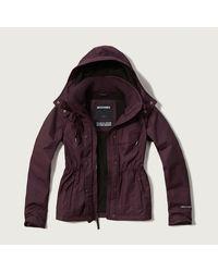 Abercrombie & Fitch - Purple A&f All-season Weather Warrior Jacket - Lyst