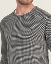 Abercrombie & Fitch - Gray Rugged Waffle Tee for Men - Lyst