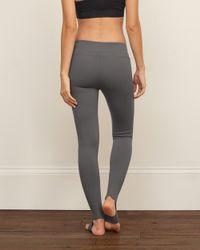 Abercrombie & Fitch - Gray Stirrup Legging - Lyst
