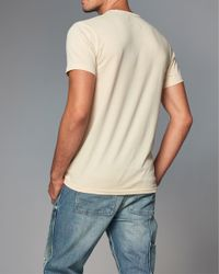 Abercrombie & Fitch - Natural Heritage Logo Graphic Tee for Men - Lyst