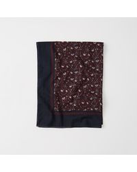 Abercrombie & Fitch - Multicolor Lightweight Scarf - Lyst