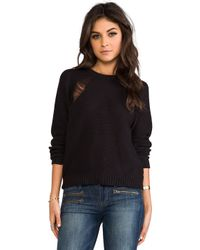 Cheap Monday Pagoda Sweater in Black