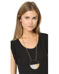 Aurelie Bidermann | Metallic Bianca Long Necklace - Mirror | Lyst