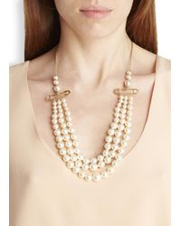 Vivienne Westwood - Metallic Jordan Gold-Plated Faux Pearl Necklace - Lyst