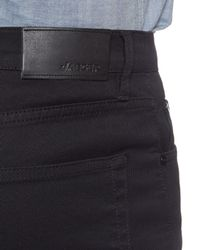 Jaeger Black Twill Five Pocket Trousers for men