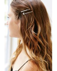 Urban Outfitters - Metallic Charm Bobby Hair Pin Set - Lyst