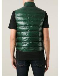 Moncler Green 'Tib' Padded Gilet for men