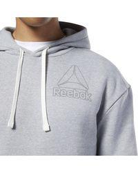 Reebok Sport-Sweatshirt 'Marble' in Gray für Herren