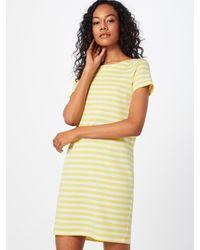 Vila Yellow Jerseykleid