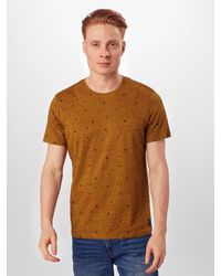 Tom Tailor Shirt in Yellow für Herren