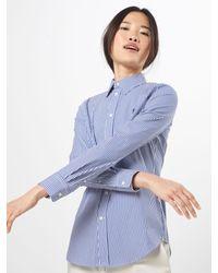 Polo Ralph Lauren Blue Bluse 'KENDAL'