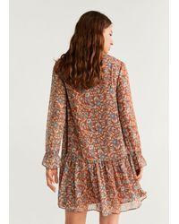 Mango Brown Kleid 'Bard'