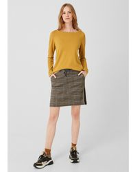 S.oliver Yellow Pullover
