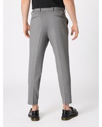 SELECTED Bügelfaltenhose in Gray für Herren