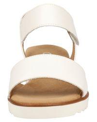 Gabor White Sandale