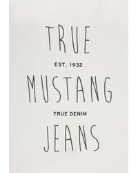 Mustang White T-Shirt