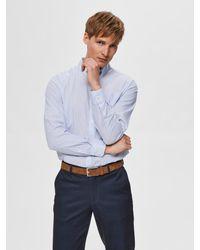 SELECTED Hemd in Blue für Herren