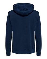 Only & Sons Sweatshirt in Blue für Herren