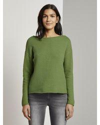 Tom Tailor Green Pullover