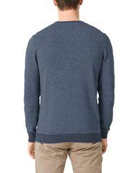 S.oliver Pullover in Blue für Herren