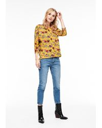 S.oliver Yellow T-Shirt