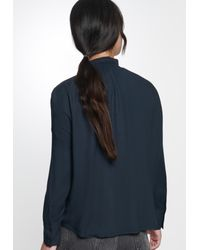 Seidensticker Blue Bluse 'Schwarze Rose'