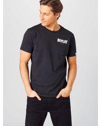 Replay Shirt in Black für Herren