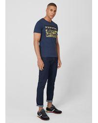 S.oliver T-Shirt in Blue für Herren