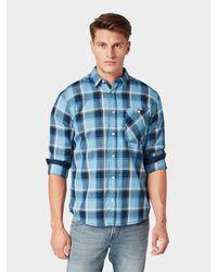 Tom Tailor Kariertes Hemd in Blue für Herren