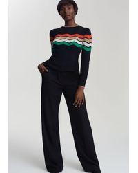 Long Tall Sally Black Anzughose Mix & Match für große Frauen