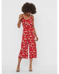 Vero Moda Red Jumpsuit