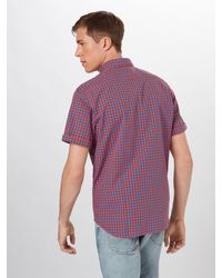Marc O'polo Hemd 'SHIRTS/BLOUSES SHORT SLEEVE' in Purple für Herren