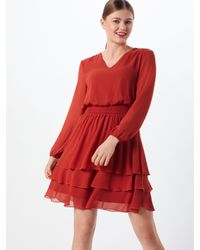 Sisters Point Red Kleid 'Nicoline-V'