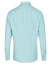 Pure Hemd in Blue für Herren