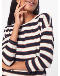 ONLY Blue Shirt 'onlHAILEY ELCOS O-NECK SWT'