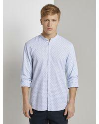 Tom Tailor Denim Hemd in Blue für Herren