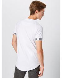 Siksilk Shirt in White für Herren