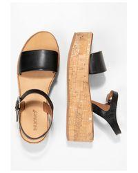 Inuovo Black Sandale
