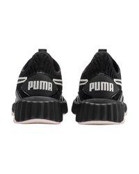 PUMA Black Schuh 'Defy'