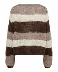 ONLY Brown Strickpullover