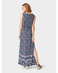 Tom Tailor Blue Maxi-Kleid