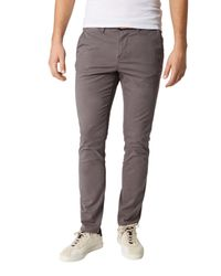 Tom Tailor Denim Chinohose in Gray für Herren