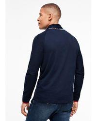 S.oliver Sweatshirt in Blue für Herren